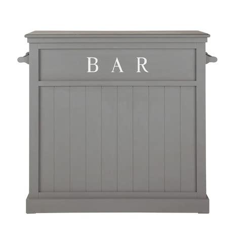 meuble chambre ado fille meuble de bar en bois gris l 120 cm newport maisons du monde