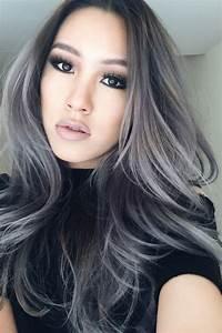 25+ bästa Gray hair highlights idéerna på Pinterest ...