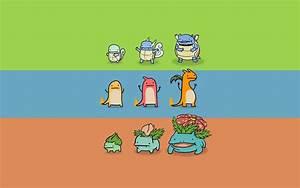 Pokemon evolution wallpaper - 68388
