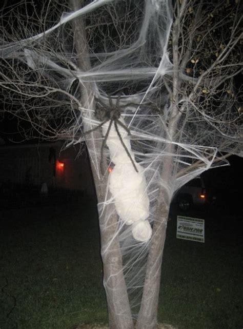 indoor outdoor tree halloween decorations ideas