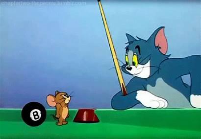 Jerry Tom Cat Ball Cue Cartoon 1950