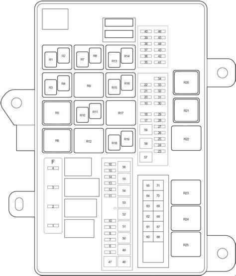2008 Toyotum Sequoium Fuse Diagram by Toyota Sequoia 2008 2017 Fuse Box Diagram Auto Genius