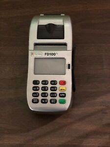 Worldpay offers four pricing plans with no joining fees and 24/7 customer service. FIRST DATA FD100ti CREDIT CARD MACHINE   eBay