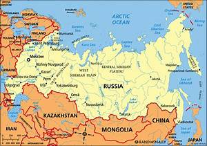 Russia Political Map Countries | www.pixshark.com - Images ...