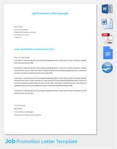 Sample Promotion Letter 15 Free Samples Examples