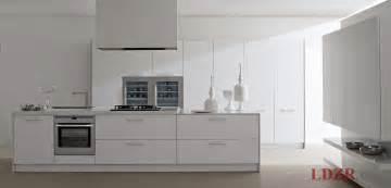 modern white kitchen ideas white lacquered modern contemporary kitchen design home