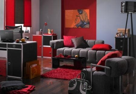 grey and red living room love for the home pinterest