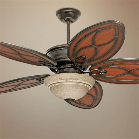tommy bahama ceiling fans 52 quot tommy bahama copa breeze amber mist light ceiling fan