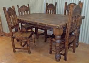 Round Dining Room Sets For 8 by Rustic Table And Chairs Designcorner
