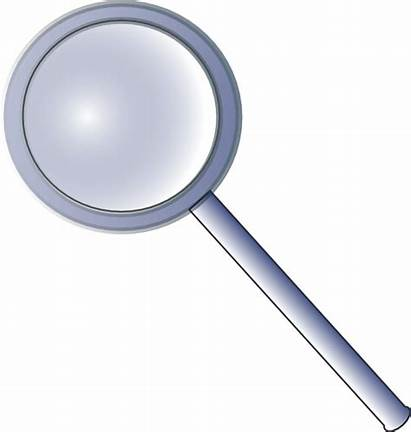 Magnifying Glass Clip Clipart Vector Magnify Svg