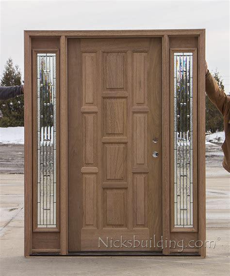 exterior solid mahogany doors cl