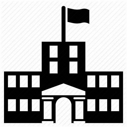 Icon Building College University Campus Clipart Icons