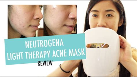light therapy reviews neutrogena light therapy acne mask review