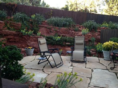 whispering pines patio picture of adobe grand villas