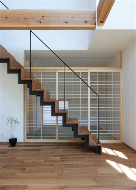 stunning asian staircase designs  shape  space