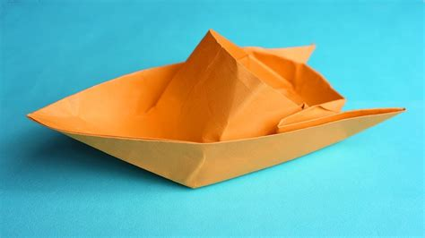 How To Make A Paper Boat Out Of Notebook Paper by How To Make A Paper Boat Easy For Kids How To Make A