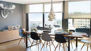 la salle a manger adopte le style scandinave With salle À manger contemporaine avec style scandinave bleu