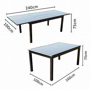 Table De Jardin Aluminium 12 Personnes : table de jardin 12 personnes 8 chaises en aluminium ~ Edinachiropracticcenter.com Idées de Décoration