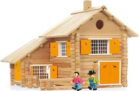 maison en bois jouet jeujura maison en rondins jeujura chalet jeujura