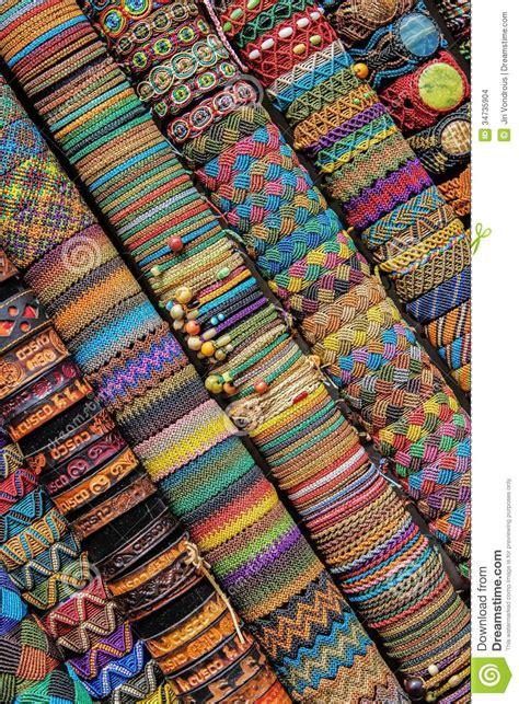 handmade peruvian bracelets  market cuzco peru south