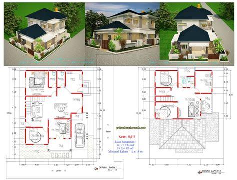 rumah mewah  lantai hook lebar  meter jasa desain rumah
