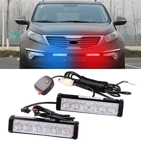strobe light kits for trucks 1 kit led car truck blue warning emergency beacon