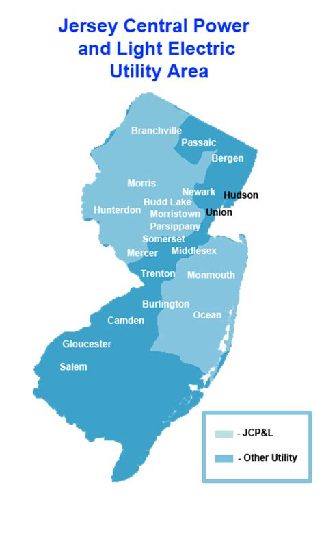 jersey central power and light bill pay jersey central power and light electric utility area