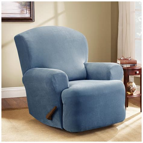 recliner chair slipcovers sure fit stretch pearson recliner slipcover 292825