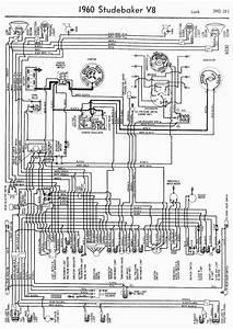 Wiring Diagram For 1960 Studebaker V8 Lark  U2013 Circuit