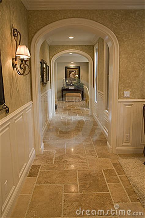 Luxury Home Hallway Royalty Free Stock Image   Image: 3578476