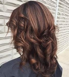 Braune Haare Mit Highlights : dark brown hair styles with highlights and lowlights ~ Frokenaadalensverden.com Haus und Dekorationen