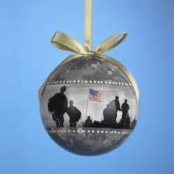 usa army us military camouflage decoupage christmas tree ornament