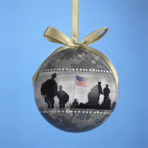 usa army us military camouflage decoupage christmas tree