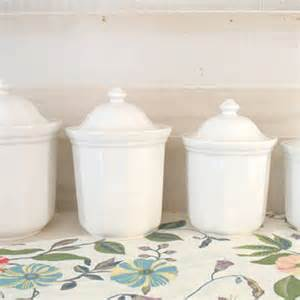 white ceramic kitchen canisters best kitchen canister sets products on wanelo