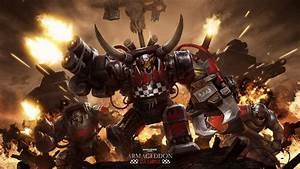 In Warhammer 40k, are all orks war hungry creatures that ...