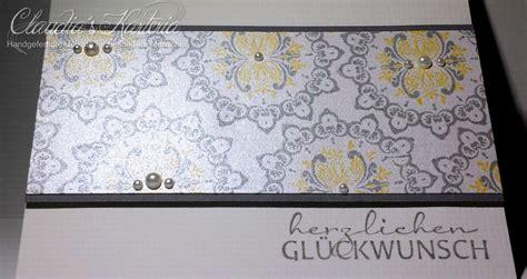 edle ornamente glueckwunschkarte claudias karteria