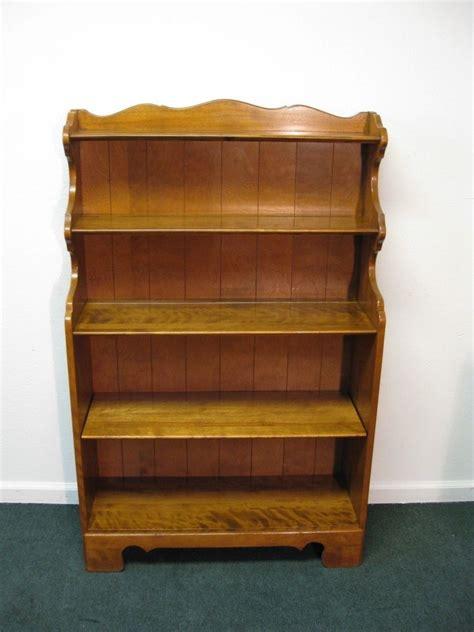 "Ethan Allen Heirloom 51"" Tall Floor Bookcase Ebay"