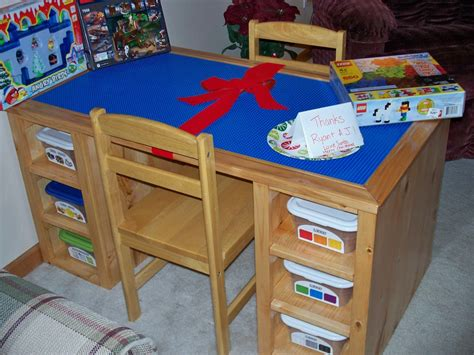 how to make a lego table out of wood hobbylark