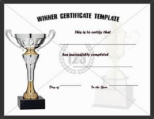 56 best images about certificates awards on pinterest With winners certificate template