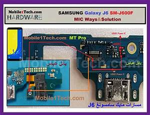 Samsung Sm-j600f Mic Ways