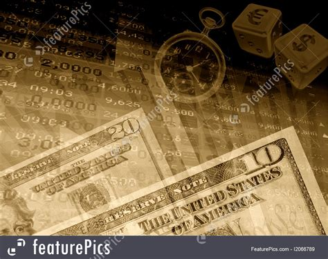 financial success background
