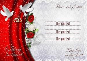 16 wedding invitation psd images free wedding invitation With wedding invitation designs psd files
