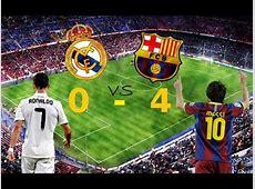 أهداف كلاسيكو برشلونة و ريال مدريد 40 الشوالي HD