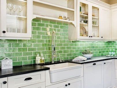 kitchen backsplash green fireclay tile an inventive company flush with green ideas 2215