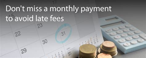 Waive credit card / cashline fees & charges. 5 Reasons to Never Miss a Monthly Credit Card Payment
