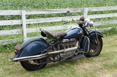 Classic Indians, Harleys, Shotguns And Cider Mills In Ohio