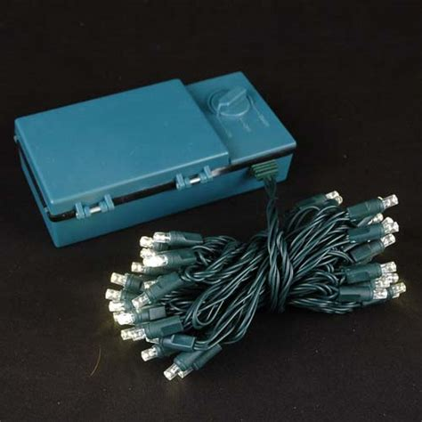 christmas lights that run on batteries 50 led battery operated christmas lights warm white on