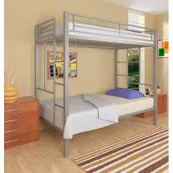 your zone twin over twin metal bunk bed walmart com