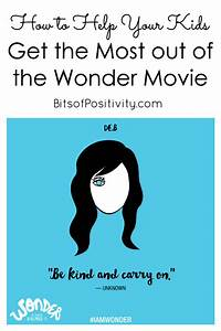 How to Help Your Kids Get the Most out of the Wonder Movie ...