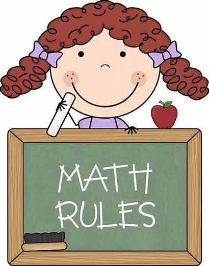 Math Clip Teacher Cliparts Clipart Computer